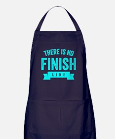 There Is No Finish Line Apron (dark)