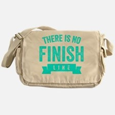 There Is No Finish Line Messenger Bag
