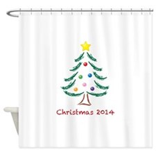 Christmas 2014 Shower Curtain