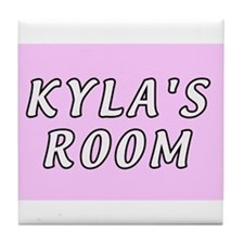 Baby name Kyla Tile Coaster