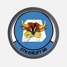 Cute Airlift squadrons Wall Clock