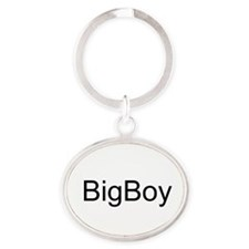Unique Humour Oval Keychain