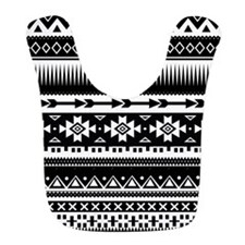 Tribal Aztec Geometric Bib