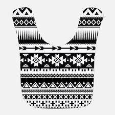 Tribal Aztec Geometric Bib