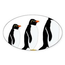 Penguin Parade Decal