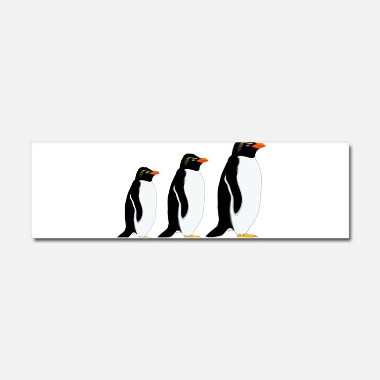 Penguin Parade Car Magnet 10 x 3