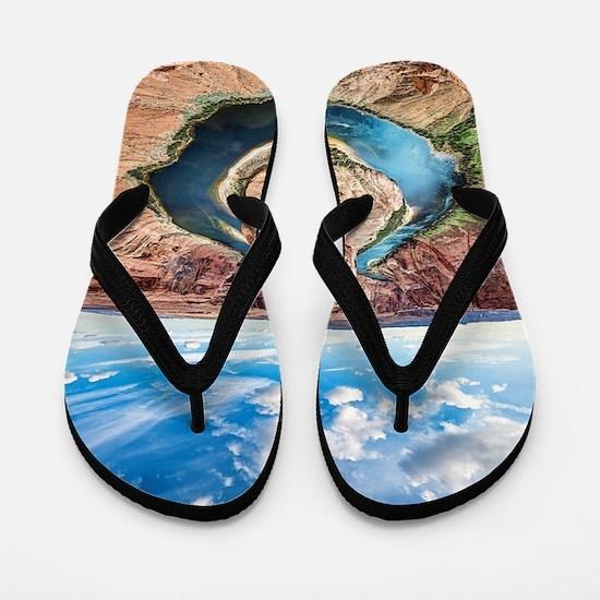 Horseshoe Bend Flip Flops