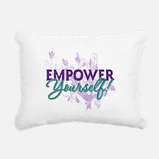 Empower Yourself Rectangular Canvas Pillow