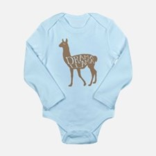 Cute Dramatic Long Sleeve Infant Bodysuit