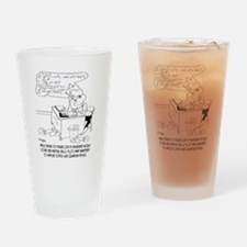 Insurance Cartoon 8760 Drinking Glass