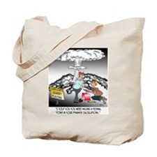 Demolition Cartoon 7971 Tote Bag