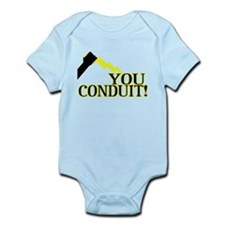 You Conduit Infant Bodysuit