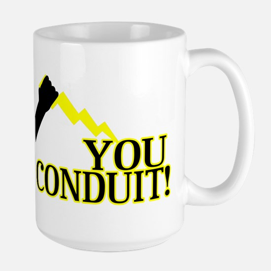You Conduit Large Mug