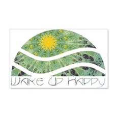 Wake Up Happy Wall Decal