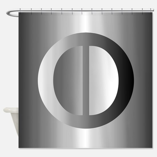 Contemp (O) Shower Curtain
