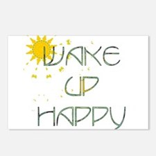 Wake Up Happy 2 Postcards (Package of 8)