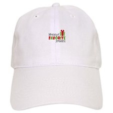 Mommy's Favorite Present Baseball Cap