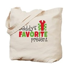 Daddy's Favorite Present Tote Bag