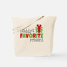 Daddy's Favorite Present Tote Bag