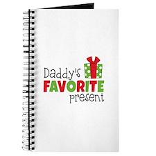 Daddy's Favorite Present Journal