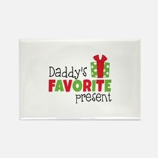 Daddy's Favorite Present Magnets
