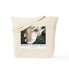 Sloth/Lemur grocery bag