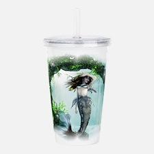 Mysterious Mermaid Acrylic Double-Wall Tumbler