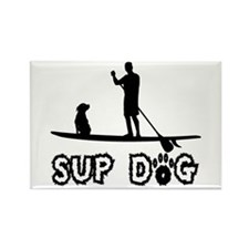 SUP Dog-Dude Magnets
