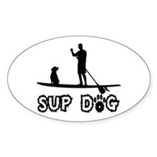 SUP Dog-Dude Decal