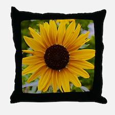 Sunflower Yellow Throw Pillow