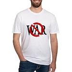 Slash Through War Fitted T-Shirt