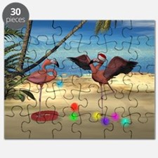 Flamingo Holiday Puzzle