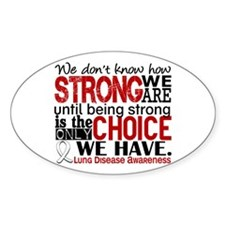 Lung Disease HowStrongWeAre Decal