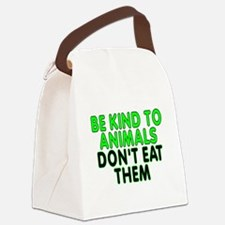 Be kind to animals - Canvas Lunch Bag