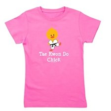 Cute Tkd Girl's Tee