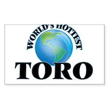 World's hottest Toro Decal