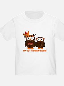 My 1st Thanksgiving T-Shirt