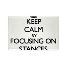 Keep Calm by focusing on Stances Magnets