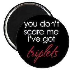 Scare Me Triplets - Magnet
