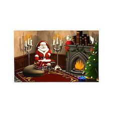 Santa Claus 3'x5' Area Rug