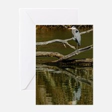 GREAT BLUE HERON Greeting Cards