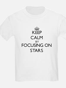 Keep Calm by focusing on Stars T-Shirt