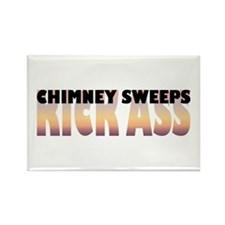 Chimney Sweeps Kick Ass Rectangle Magnet