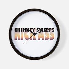 Chimney Sweeps Kick Ass Wall Clock