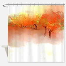 Unbelievable Autumn Landscape Shower Curtain