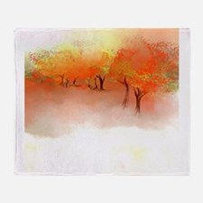 Unbelievable Autumn Landscape Throw Blanket