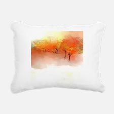 Unbelievable Autumn Land Rectangular Canvas Pillow