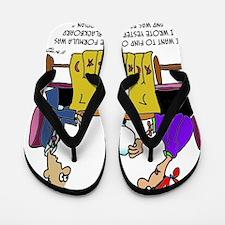 Math Cartoon 6487 Flip Flops