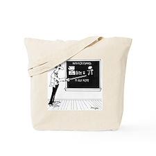 Math Cartoon 5850 Tote Bag