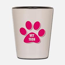 Cool Veterinary tech Shot Glass